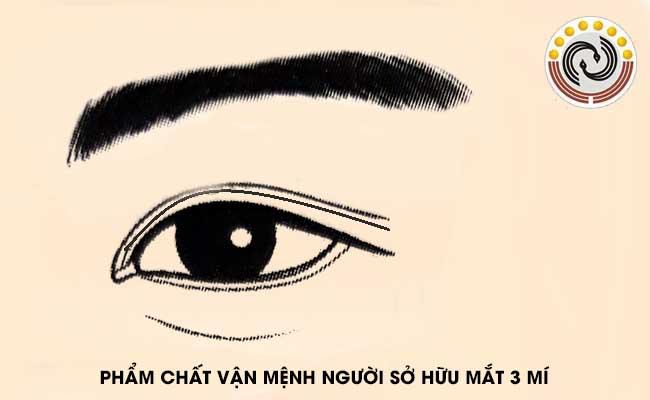 Mắt 3 mí là gì & Mắt ba mí #Tốt hay #Xấu theo nhân tướng học?