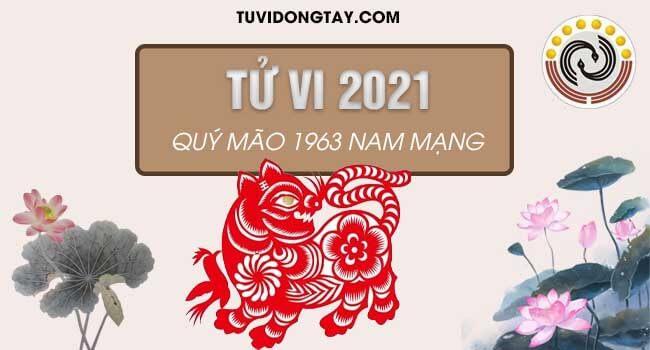 Xem sao chiếu mệnh & Tử vi tuổi Quý Mão năm 2021 nam mạng