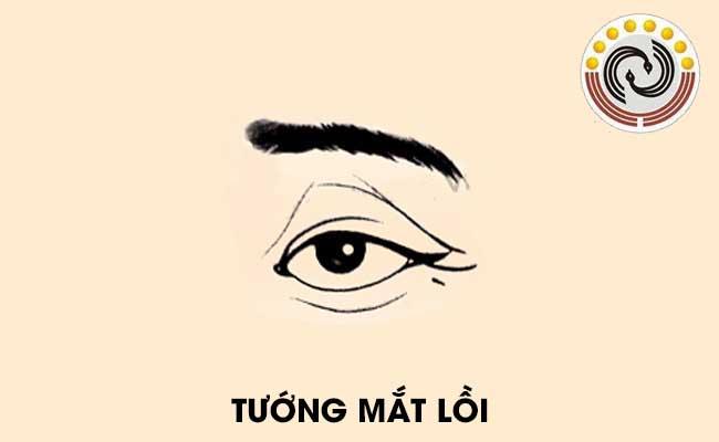 Tướng mắt lồi là gì, tướng mắt lồi có ý nghĩa gì