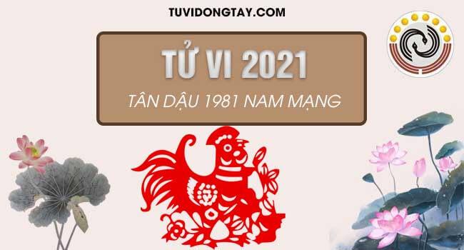 Xem bói tử vi tuổi Tân Dậu năm 2021 nam mạng. Luận công danh sự nghiệp nam Tân Dậu năm 2021
