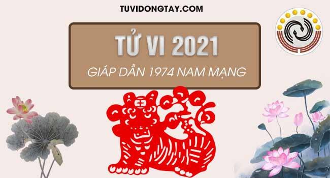 Bình giải tử vi năm 2021 tuổi Giáp Dần nam mạng về tài lộc, sức khỏe, vận hạn giúp nam 1974 nắm được vận trình năm 2021 Tân Sửu
